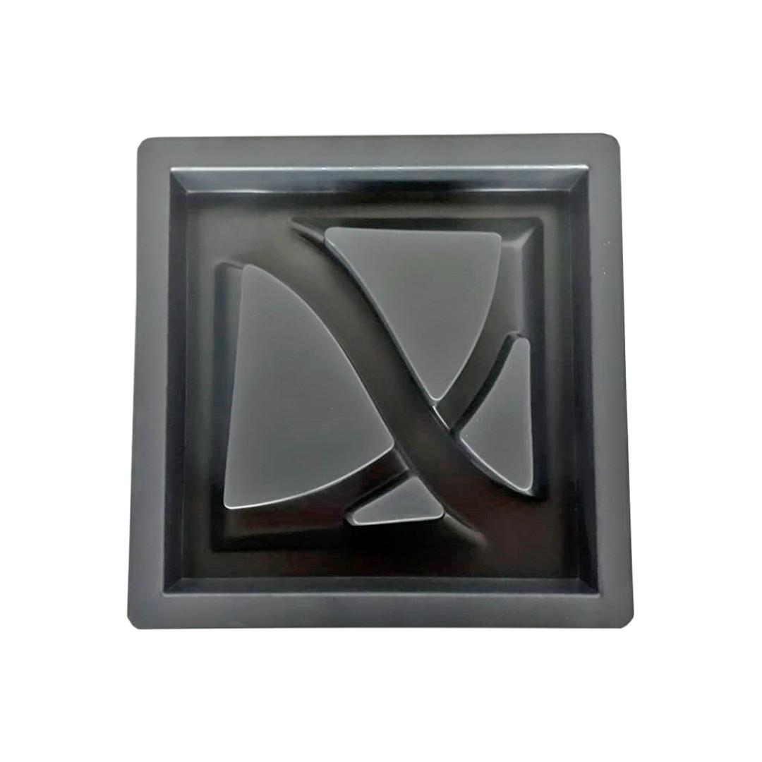 ELEMENTO VAZADO LUNA (1) 39X39X5 (KIT COM 2)